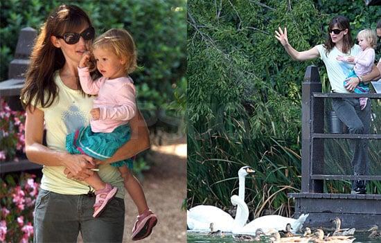 Jennifer & Violet's Swan Sighting