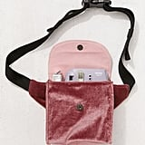 Velvet Camera Sling Bag