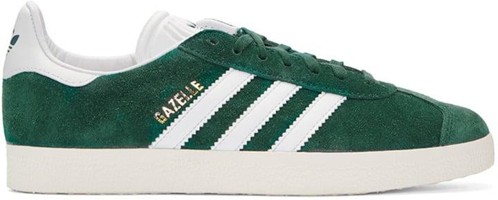 adidas Green Gazelle Sneakers ($90)