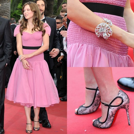 Lea Seydoux at 2011 Cannes Film Festival 2011-05-12 03:34:33