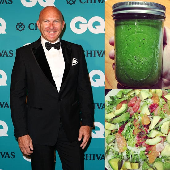 Matt Moran's Diet and Matt Moran's Day on a Plate