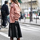 How to Wear Suede: A Colourful Jacket