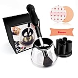 Makeup Brush Electric Cleaner Automatic Spin Brush Cleaner and Dryer Teapot Cleaning Tool