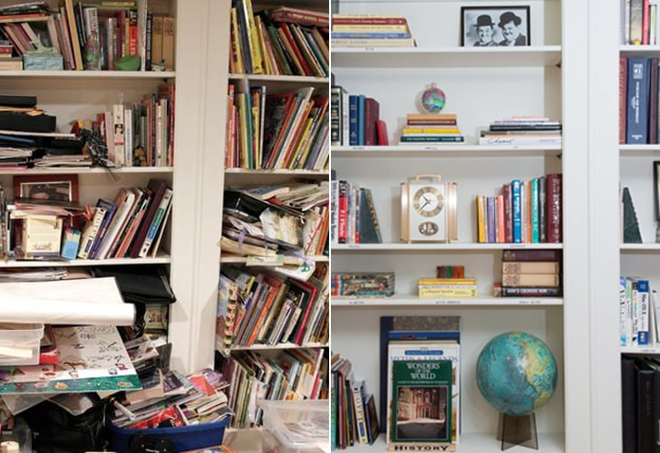 How To Organize Bookshelves Popsugar Home,Checked Baggage United Cost