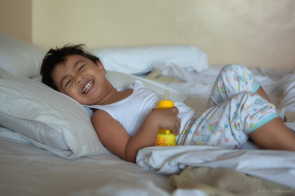 child waking up - photo #39