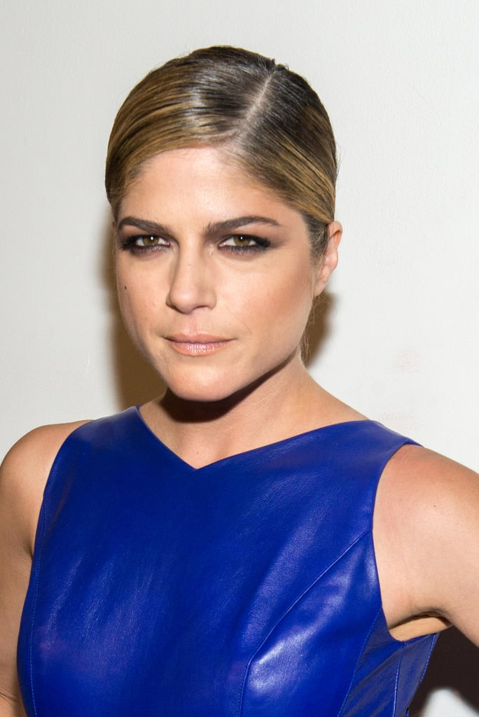 Selma Blair at Christian Siriano Spring 2014.