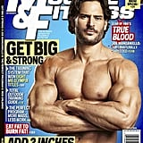 He posed for the cover of Muscle & Fitness's July 2011 issue.