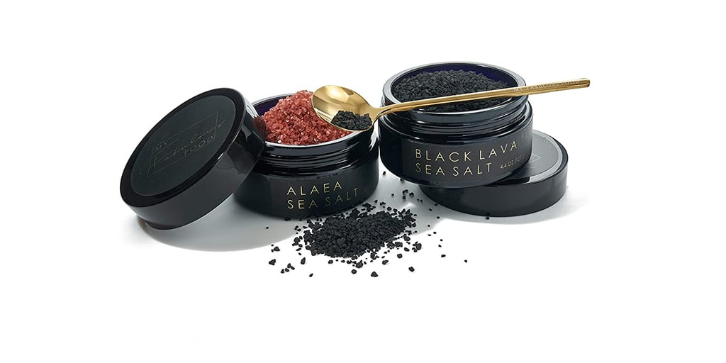 My Fabulous Food Luxury Hawaiian Black Lava and Alaea Sea Salt Gift Set