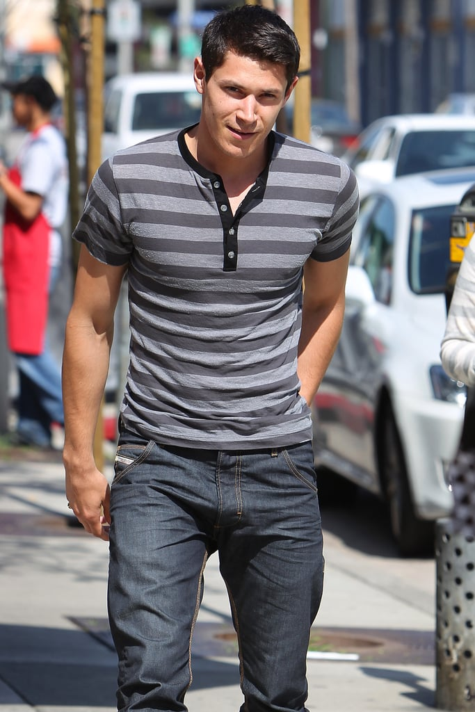 Pictures of Twilight's Alex Meraz Out in LA