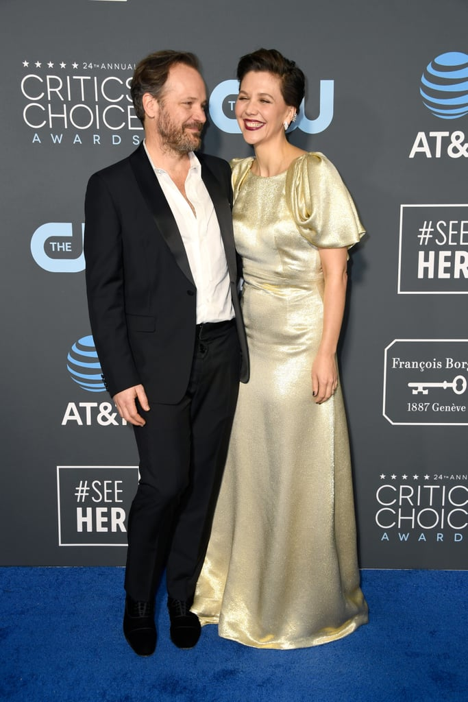 Pictured: Peter Sarsgaard and Maggie Gyllenhaal