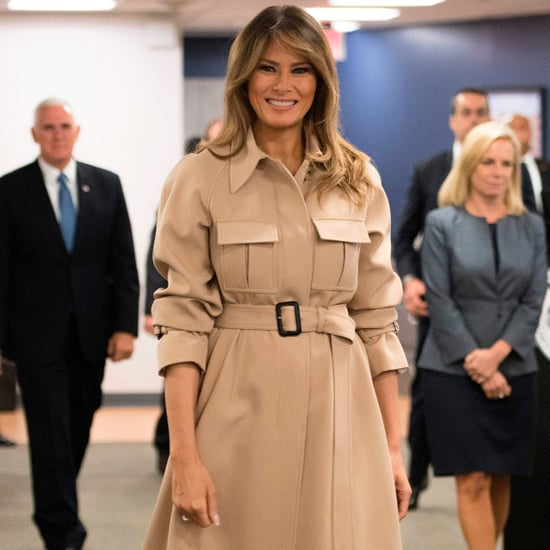 Melania Trump's Trench Dress