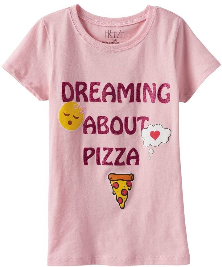 """Dreaming About Pizza"" Graphic Tee"