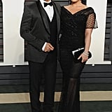 She Looked Like Old Hollywood Royalty at the Vanity Fair Oscars Party