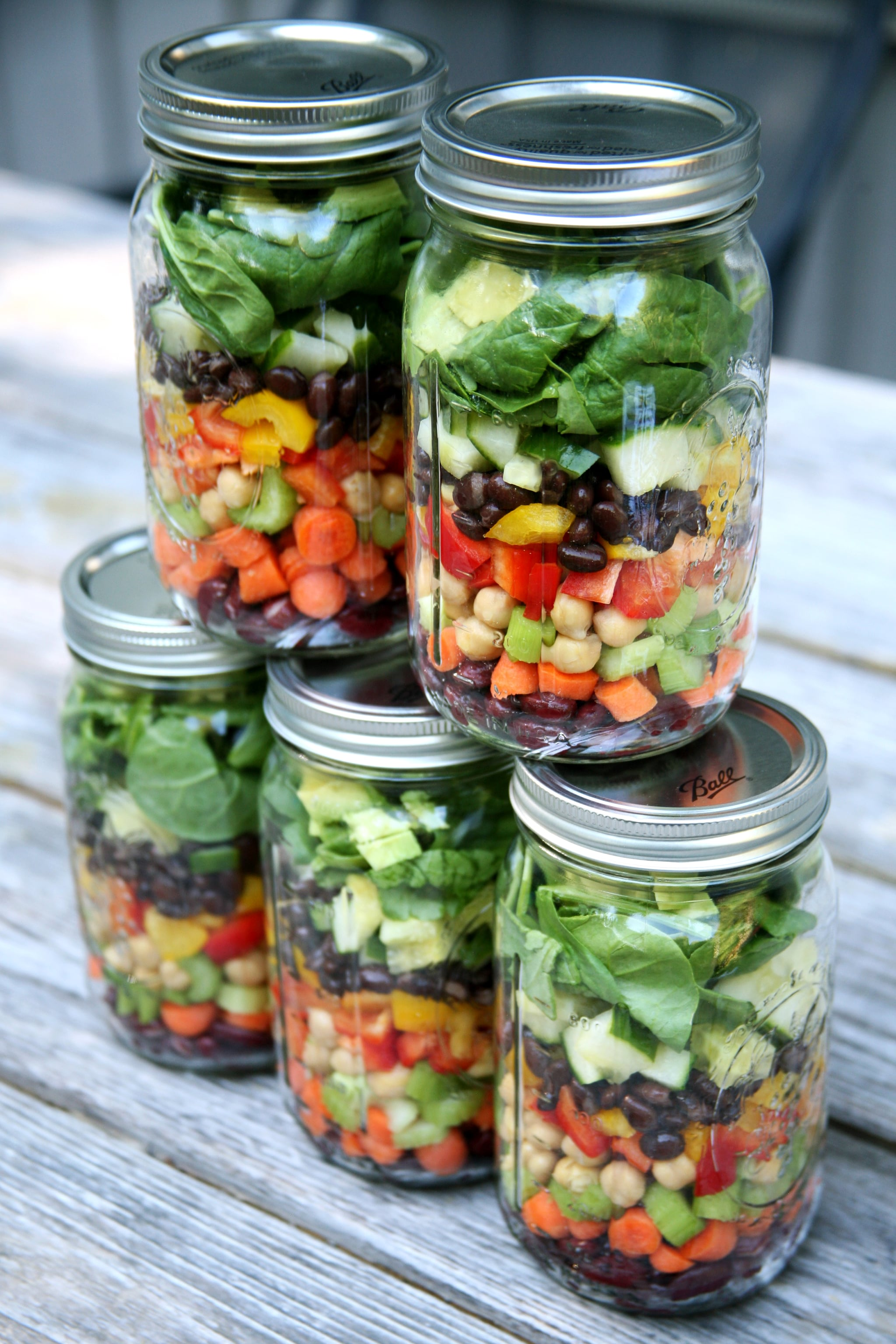 How to Pack High-Protein Mason Jar Salads For the Week