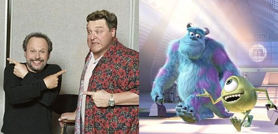 Billy Crystal as Mike/John Goodman as Sulley (Monsters Inc.)