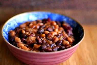 All American Side: Smoky Baked Beans