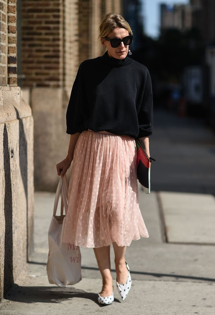 Wear Them on a Girlie Tulle Skirt