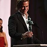 Brad Pitt's Speech at the SAG Awards 2020 Video