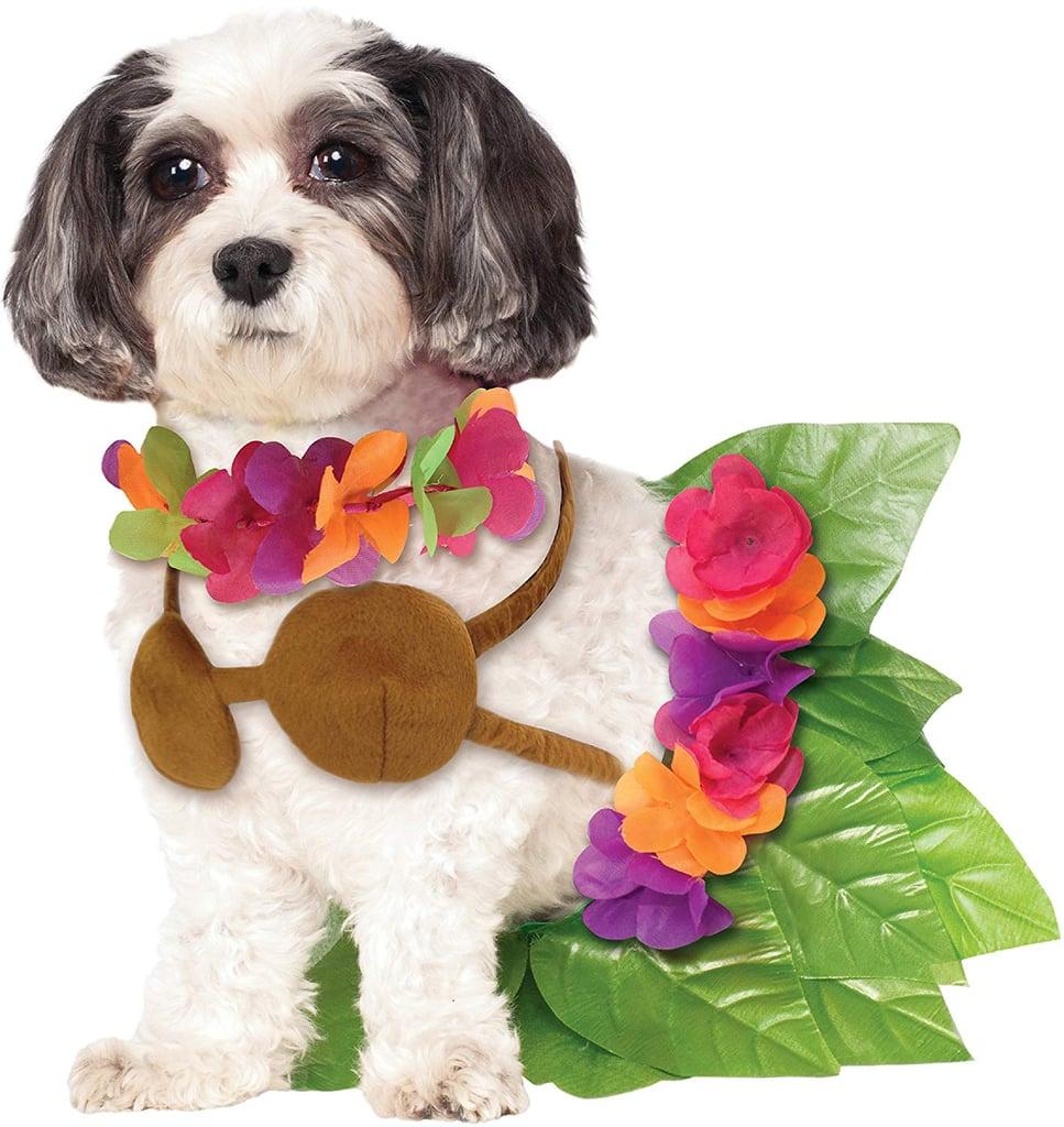 Hula Girl Pet Costume