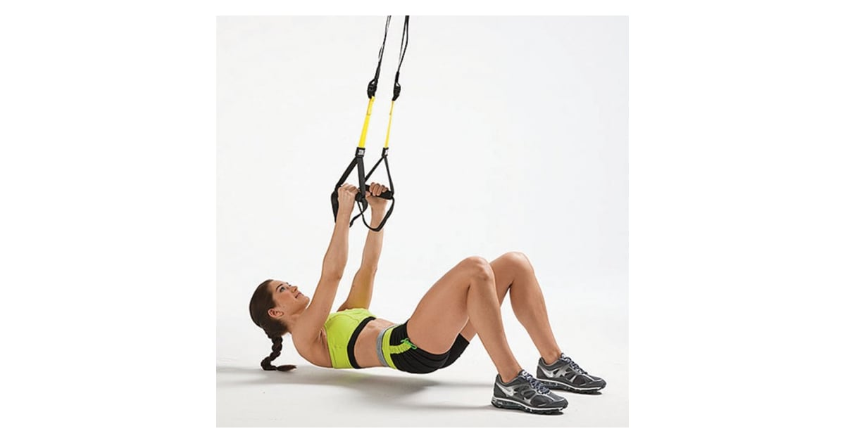 Inverted row trx workout popsugar fitness photo