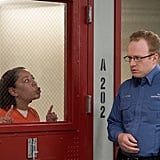 The new prison hasn't dulled Gloria's (Selenis Leyva) ability to give people a piece of her mind.