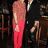 Garance Dore and Olivier Rousteing