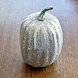 Silver Sparkle Pumpkin