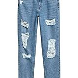 H&M Slim Mom Jeans Trashed