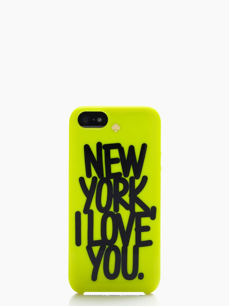 Put your love out there for the world to see with this loud and proud iPhone 5 cover ($40). Photo courtesy of Kate Spade New York