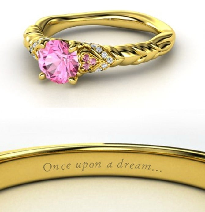 disney engagement rings popsugar love sex - Disney Princess Wedding Rings