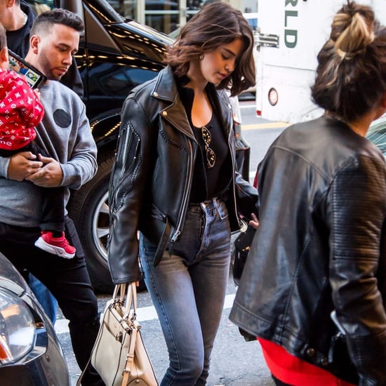 Selena Gomez Fringe Leather Jacket
