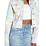 Ten Sixty Sherman Tie Dye Denim Jacket