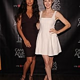 Camila Alves posed with Kelly Rutherford in NYC.