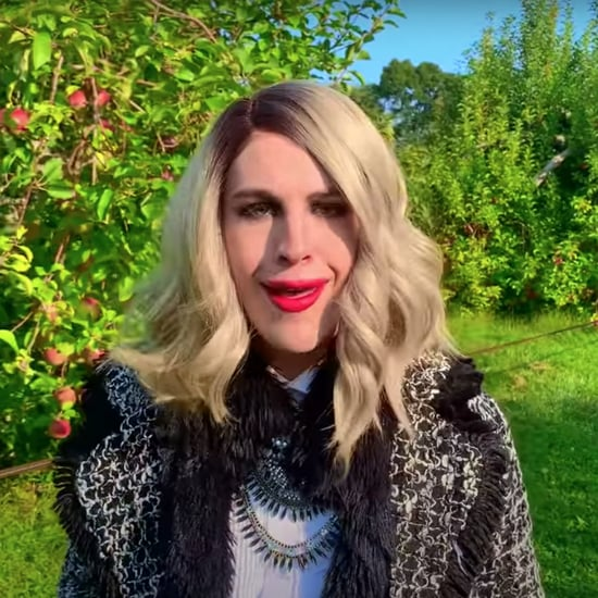 Man Spoofs Moira Rose Doing a Vogue 73 Questions Interview