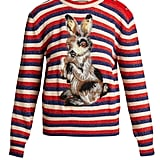 Gucci Striped Wool and Mohair-Blend Rabbit Sweater