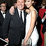 Karlie Kloss got chummy with Michael Kors at the amfAR New York Gala during Fashion Week in February.