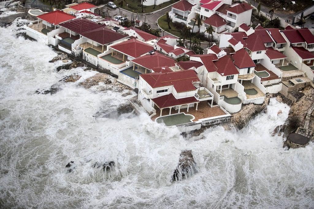 Another aerial view of Sint Maarten on Sept. 6.