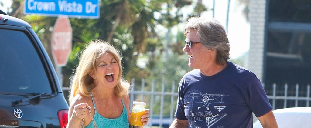 Kurt Russell and Goldie Hawn's Reaction to Seeing the Paparazzi Isn't What You'd Expect