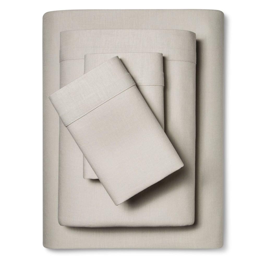 Threshold Linen Blend Sheet Set