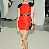 Diane Kruger seems to never make a style misstep, including this chic black and red Jason Wu number in 2009.