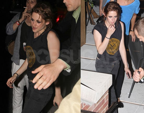 Eclipse Star Kristen Stewart on The Late Show and at NYC Afterparty