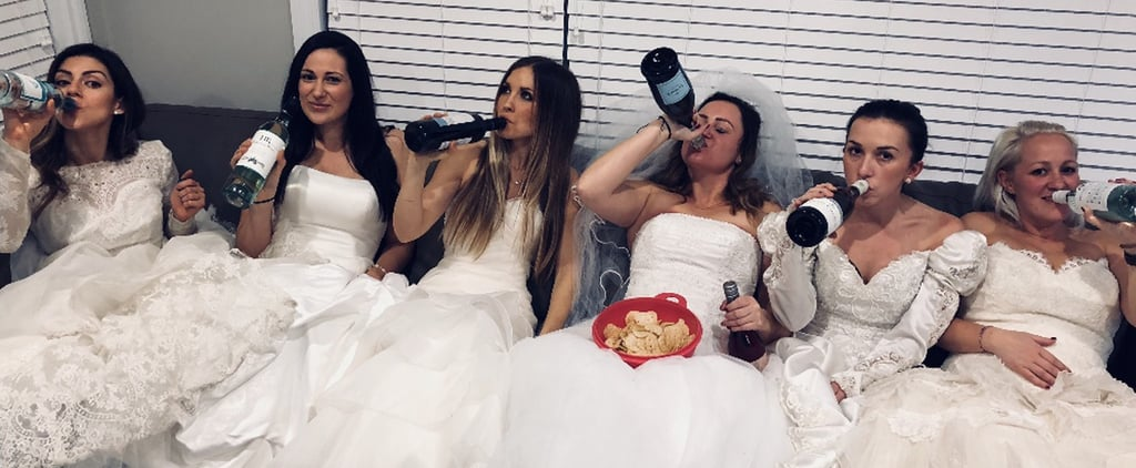 This Woman Chose to Celebrate Her Divorce Rather Than Be Sad, and Man, Did Her Friends Come Through