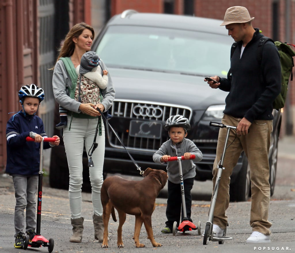 Image result for gisele tom and kid