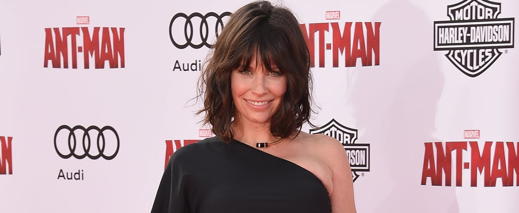 Pictures of Pregnant Evangeline Lilly at Ant-Man Premiere