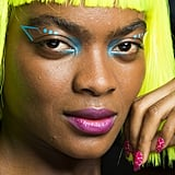 Geometric Neon Cat Eye and Wigs at Jeremy Scott