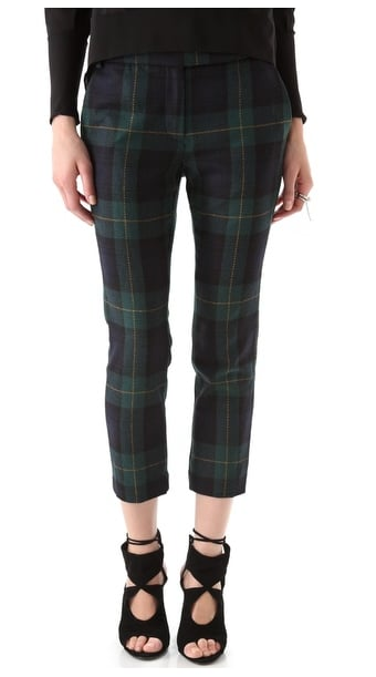These Tibi Plaid Skinny Beatles Pants ($330) are a little more rocker-cool than preppy.