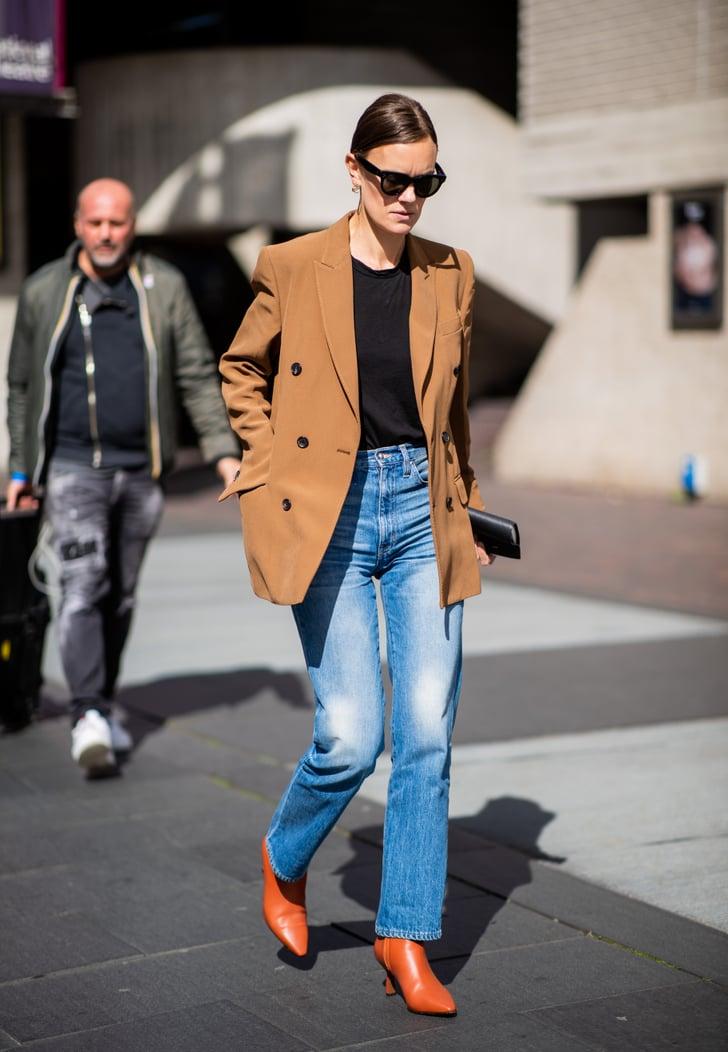 denim trends 2019  popsugar fashion photo 4