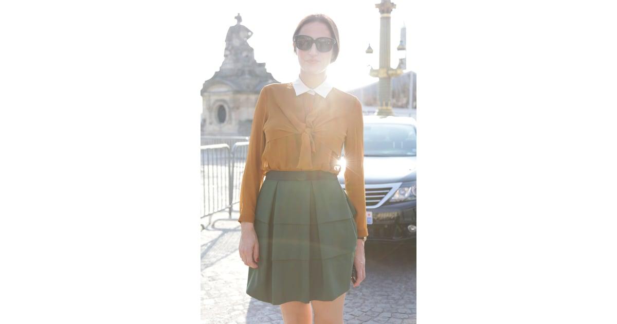 Spring 2012 Paris Fashion Week Street Style Day 5