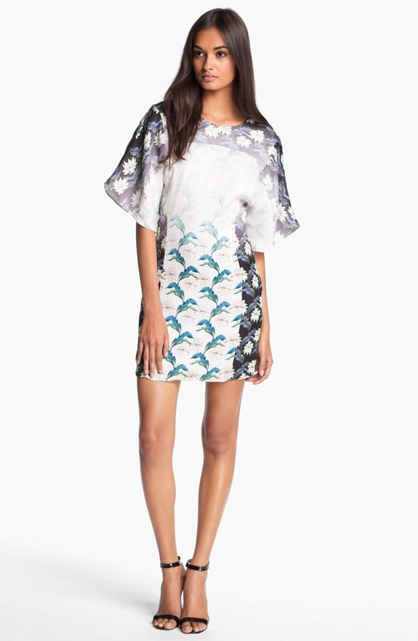 Rebecca Minkoff's Luis silk sheath dress ($388) gives us a sophisticated way to take on the surfer-girl vibe.