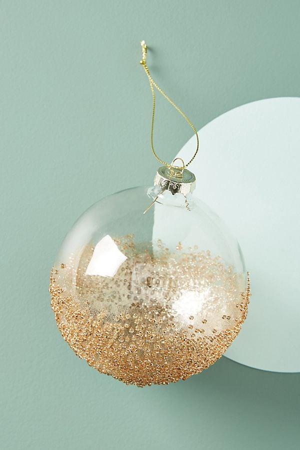 Gilded Globe Ornament